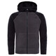 """The North Face Youth Glacier Full Zip Fleece Jacket Graphite Grey/Black"""